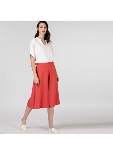 Lacoste Kadın  Pantolon HF0116.16K Kırmızı